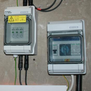 A napelemes rendszerek fontos kiegészítője a kapcsoló és a biztonsági berendezések
