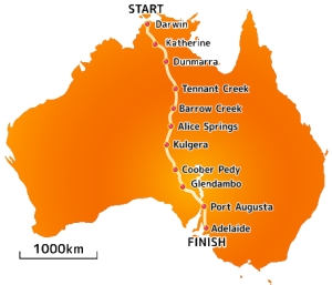 Ausztrália napelemes autók versenye