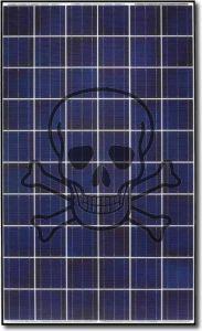 Veszélyes napelem