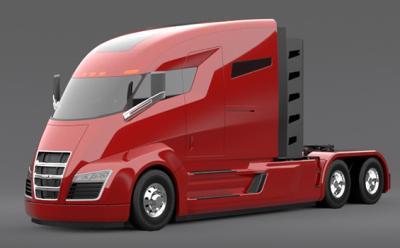 Nikola One, az elektromos kamion