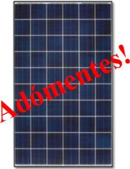 Adómentes megújuló energia
