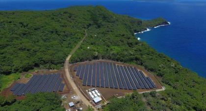 Megújuló energia Ta'u szigetén
